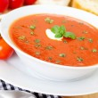 Low Car tomato soup