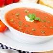 Low Car tomato soup