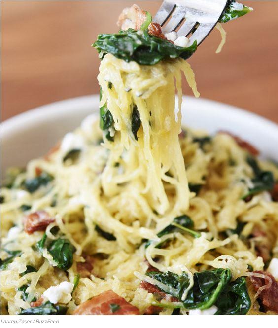 6 Guilt-Free Low-Carb Spaghetti Squash Recipes