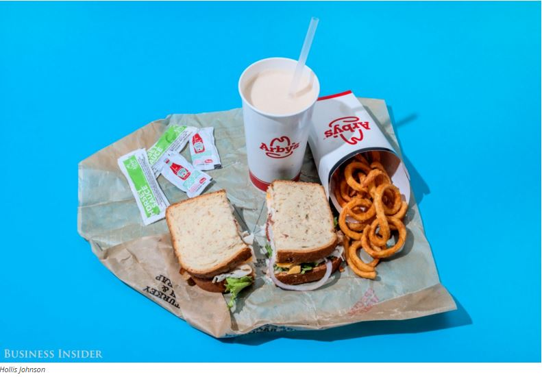 Below, we list what roughly 2,000 calories looks like at some large chains