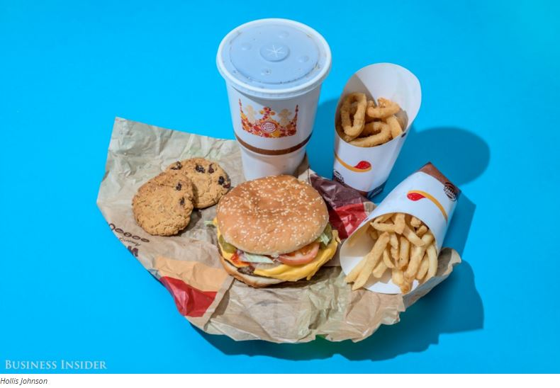 What 2,000 Calories Of Popular Fast Food Looks Like