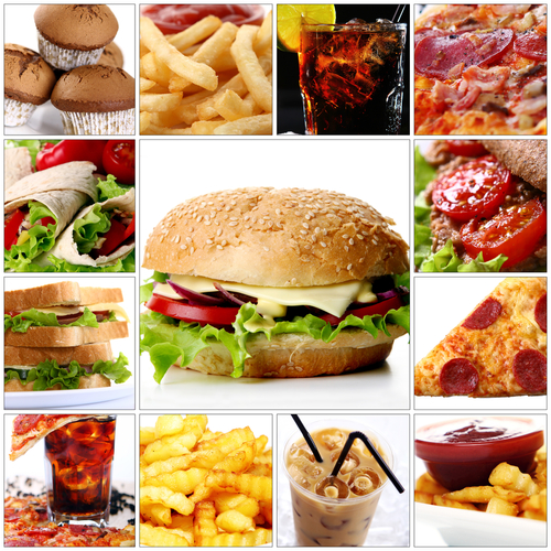 What 2 000 calories of popular fast food looks like for Cuisine 2000