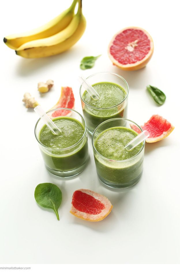 Top Ten Healthiest Green Smoothie Recipes