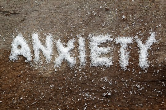 sugar and anxiety