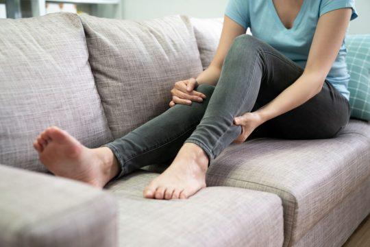 diabetic leg pain